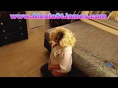 Alexia Blonde Tranny Ass Fucked Plus Bonus BJ Scene
