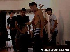 Teen Latino Boys Gay Sex Orgy