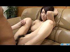 Busty Fuuka Takanashi gets her hairy pussy smashed