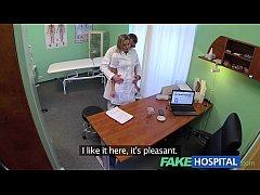 FakeHospital Naughty blonde nurse gets doctors ...