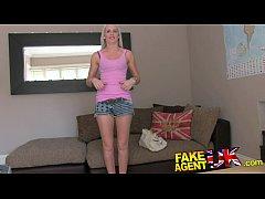 FakeAgentUK Blonde college girl...