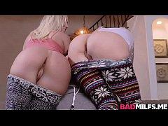Natasha Starr and Bailey Brooke sucking Jake Ad...