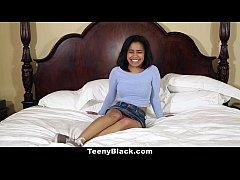 TeenyBlack - Teeny Tiny Loni Legend's Porn Casting Video