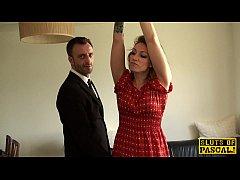 British submissive Ava Austen...