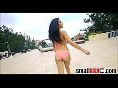 Small Latina Teen Fucked...