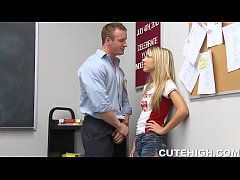 Angry School Teacher Pounding...