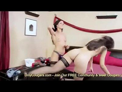Rusian Babe Karma & Alyssa Reece Fuck With A Strapon