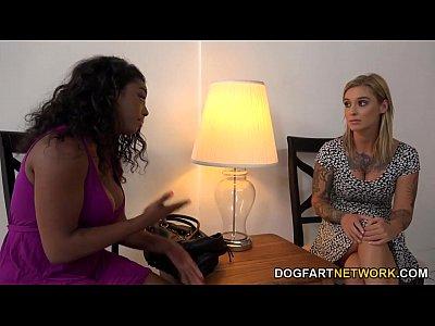 Kleio valentien tener interracial lesbianas sexo
