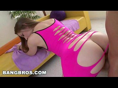 BANGBROS - Qualified Big Booty White Girl Dani Daniels Shows Off Dat Azz