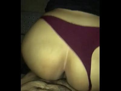 Big Ass Latina Tipsy late night backshots