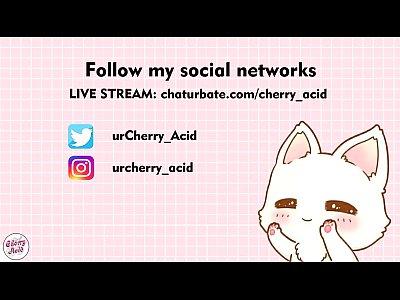 cherry acid elf cosplay really creamy pussy webcam