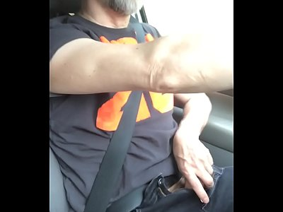 Jacking Off In The Car With My Big Bro And My BF Masturbation Vehicle Masturbate Public Car Gay