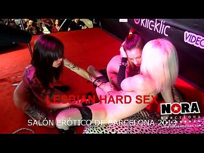 Lesbiana sexo duro