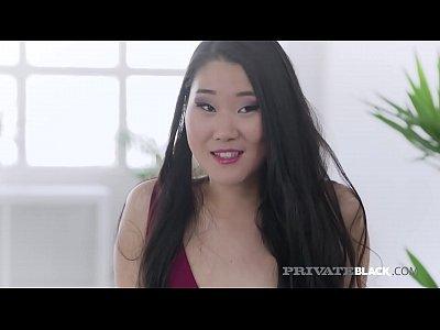 PrivateBlack - Hot Asian Katana Drilled By Big Dark Dick!