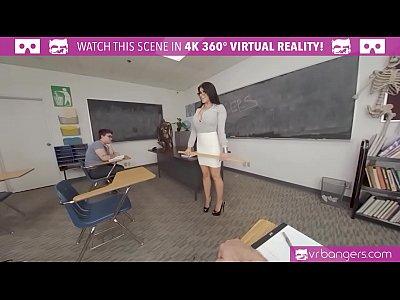 VRBangers.com - Sexy Teacher Romi Rain Getting Rammed By A Sexy Stud