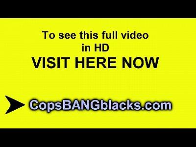 Whore big boobs policewoman exploited younger black cock