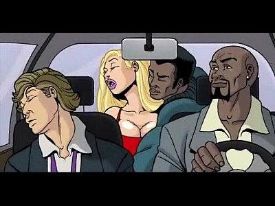 Interracial Cartoon Video