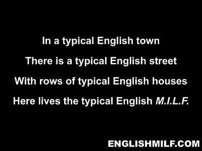 Typical English Milf