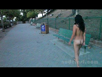 porno ecuatoriano con Nude in San Francisco: Iris naked in public