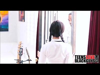 Black Guy Fucks His Teen Japanese Tutor