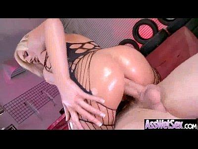 Anal Bang On Cam With Big Ass Oiled Girl (kate england) movie-15