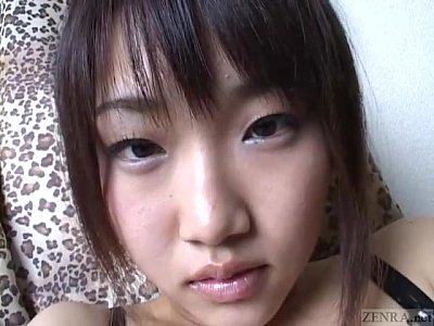 Subtitled virtual Japanese masturbation support in POV