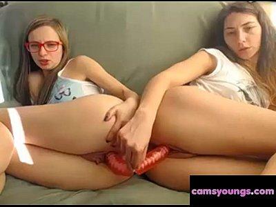 Lesbianas jovenecitas, adolescente libre de video porno cf
