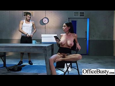 chicas follando con Sex Tape With Horny Office Big Tits Girl clip-09