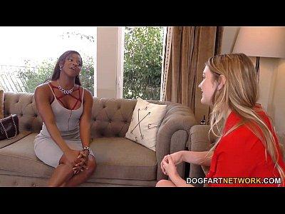 Acción lesbiana con kenna james