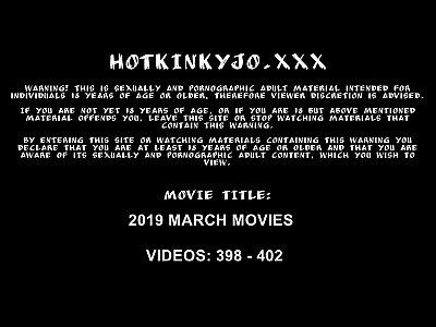 MARCH 2019 UPDATES Hotkinkyjo prolapse giant dildos fisting balls & swets