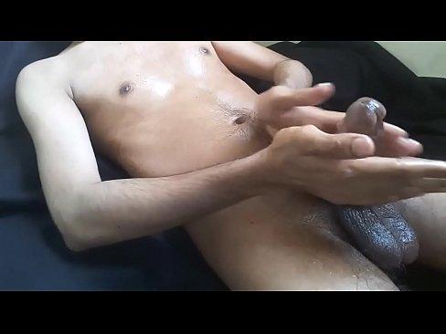 Grote penis cum shot