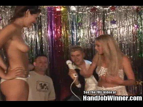 Handjob wife swap