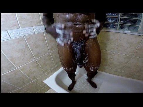 Shower hot cock girl