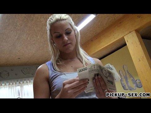 Big Tit Blonde Sucks Bbc