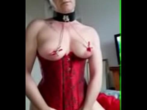 Mature slave video