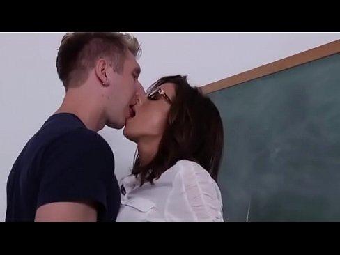 Teacher boob pressing sex clip