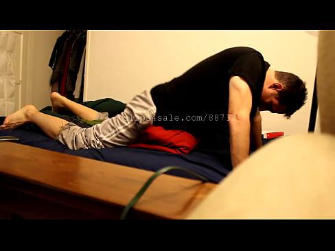 Boys humping pillow