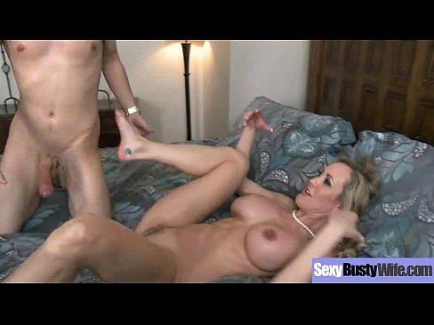 (brandi love) Horny Mature Wife With Big Boobs Love Intercorse mov-07