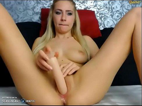she Masturbates cums until