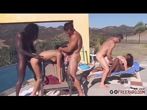 Candice Nicole Tatiana Kush Pool party debauchery part 5XXX Sex Videos 3gp