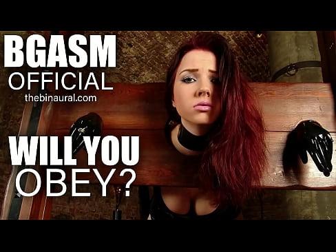 Will You Obey? – Slave Hypnosis (BGASM)