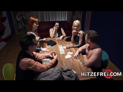 HITZEFREI Stunning blonde milf fucked in the kitchen's Thumb