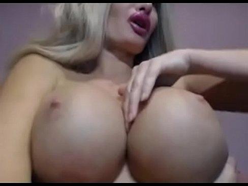 round fake boob