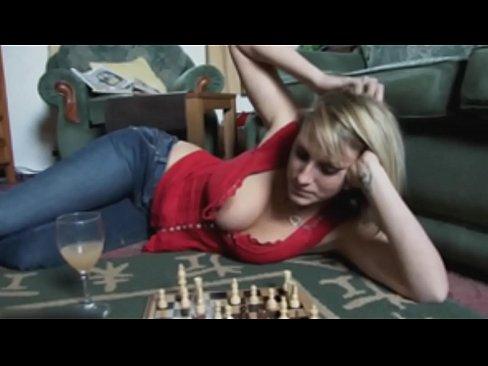 Busty blond porn star