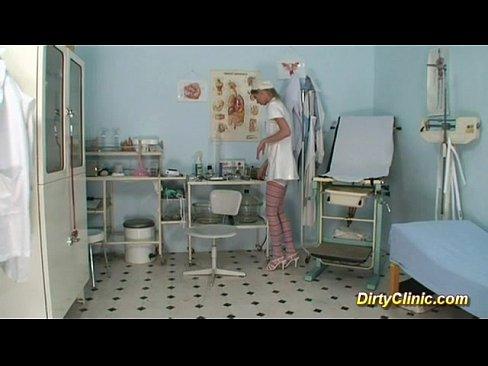 Gudang bokep Sexy cute Nurse loves dildo and cock for a real orgasm