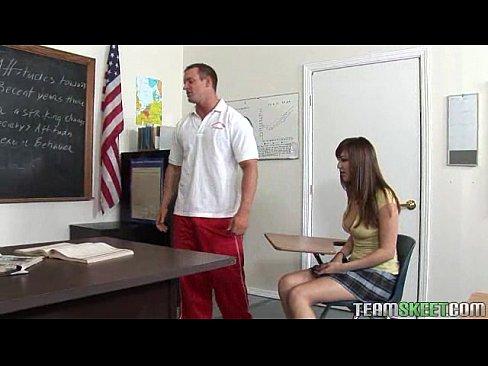 busty brunette loves fucking her professor