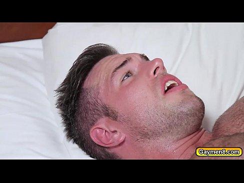 Alex getting anal fuck by jjs big dick