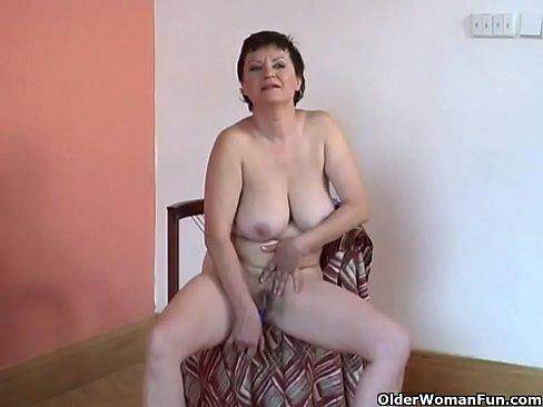 Big hairy granny