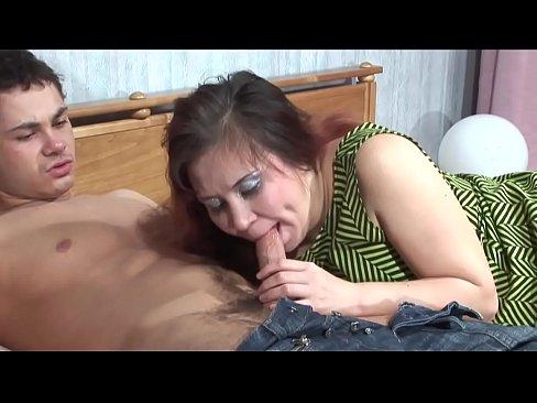 Huge Tits Milf Sucks Fucks