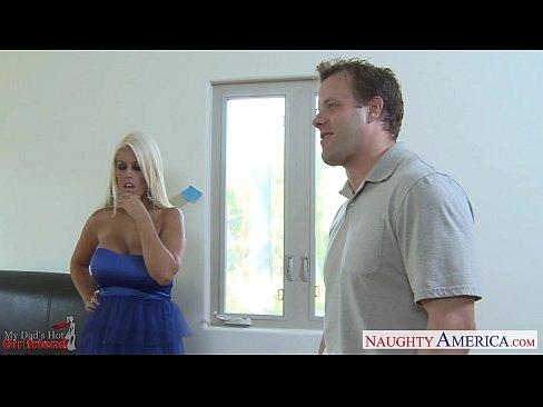 Busty gf Bridgette B. take cock